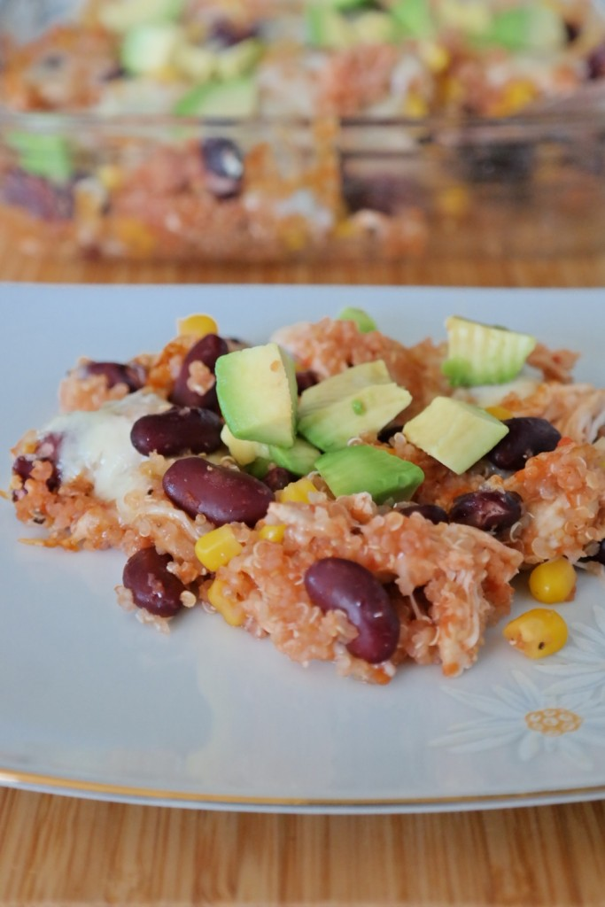Mexican Quinoa Caserole